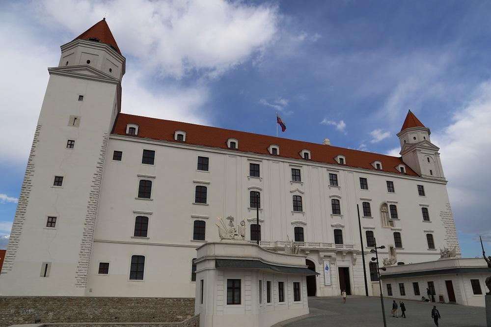 O Castelo de Bratislava. (Foto: Nathalia Tavolieri / Viagem em Detalhes)
