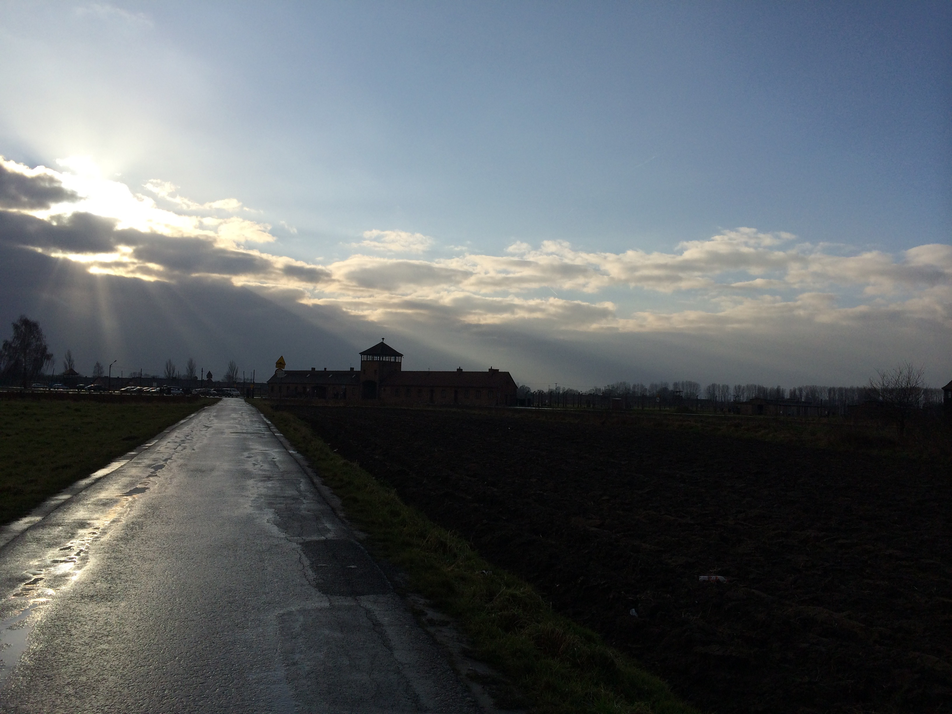 O imenso Birkenau (Foto: Nathalia Tavolieri)
