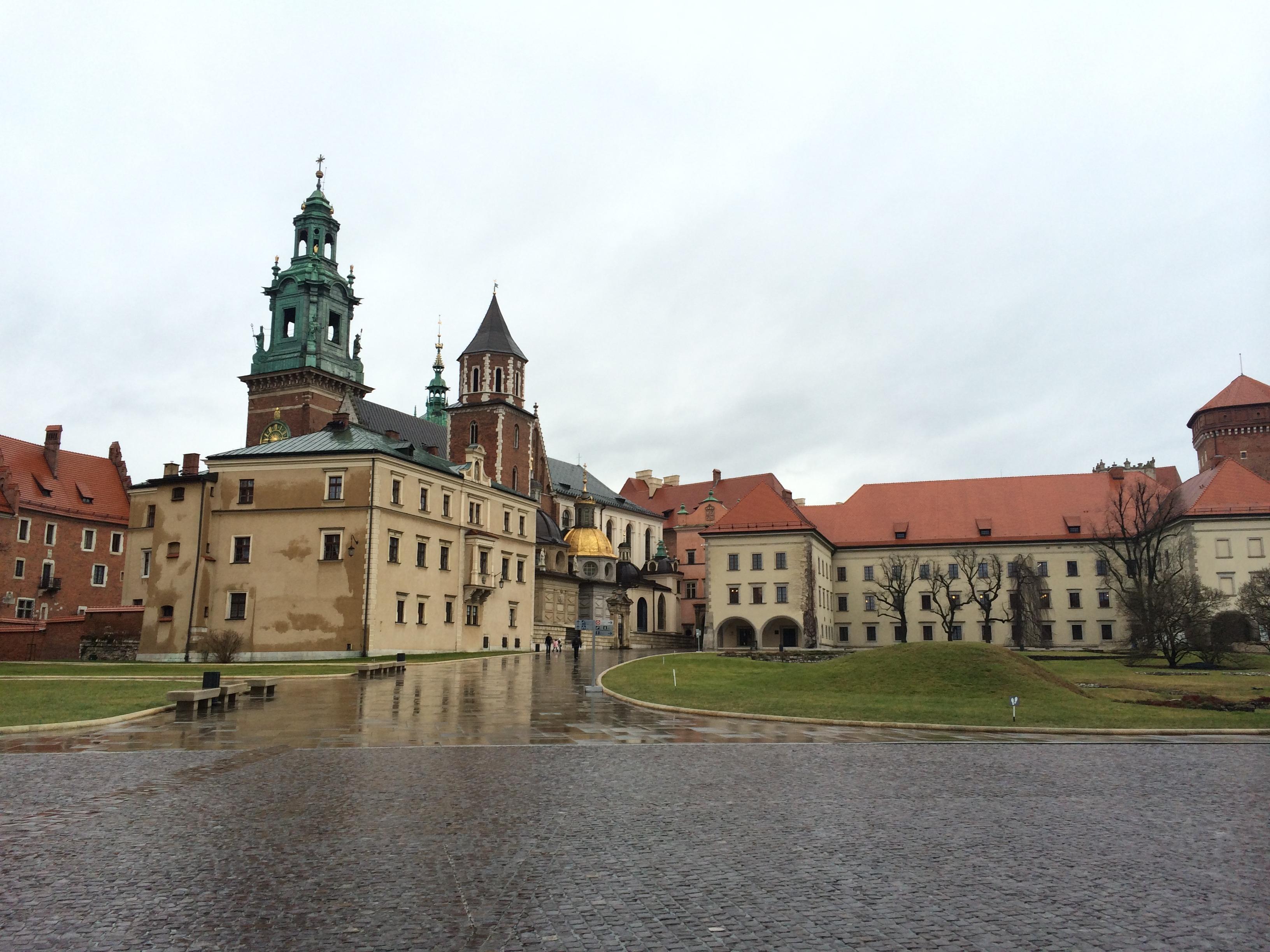 A Catedral de Wawel. (Foto: Nathalia Tavolieri)