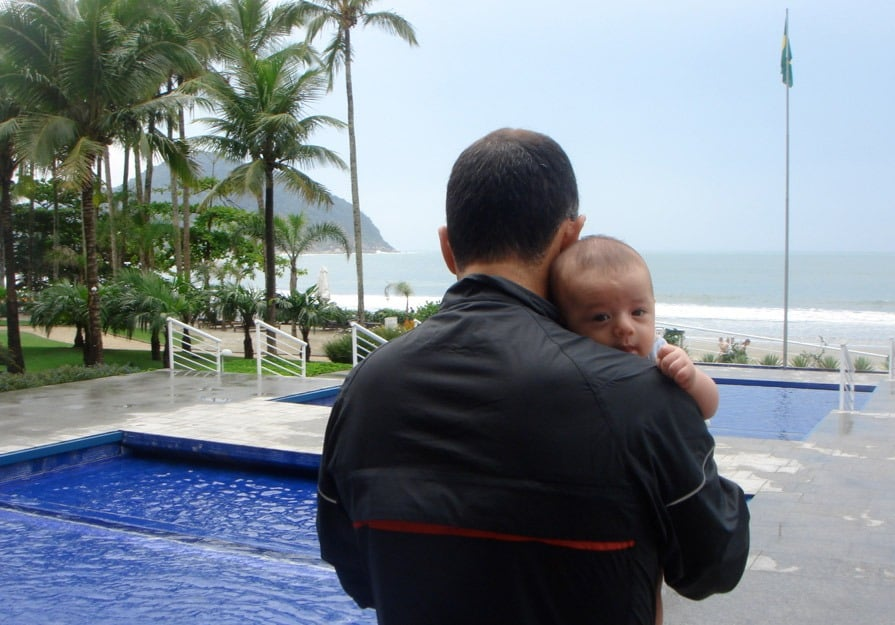 Momentos no Sofitel Jequitimar, um dos melhores hotéis para ir com crianças perto de São Paulo! Conheça outros no post!