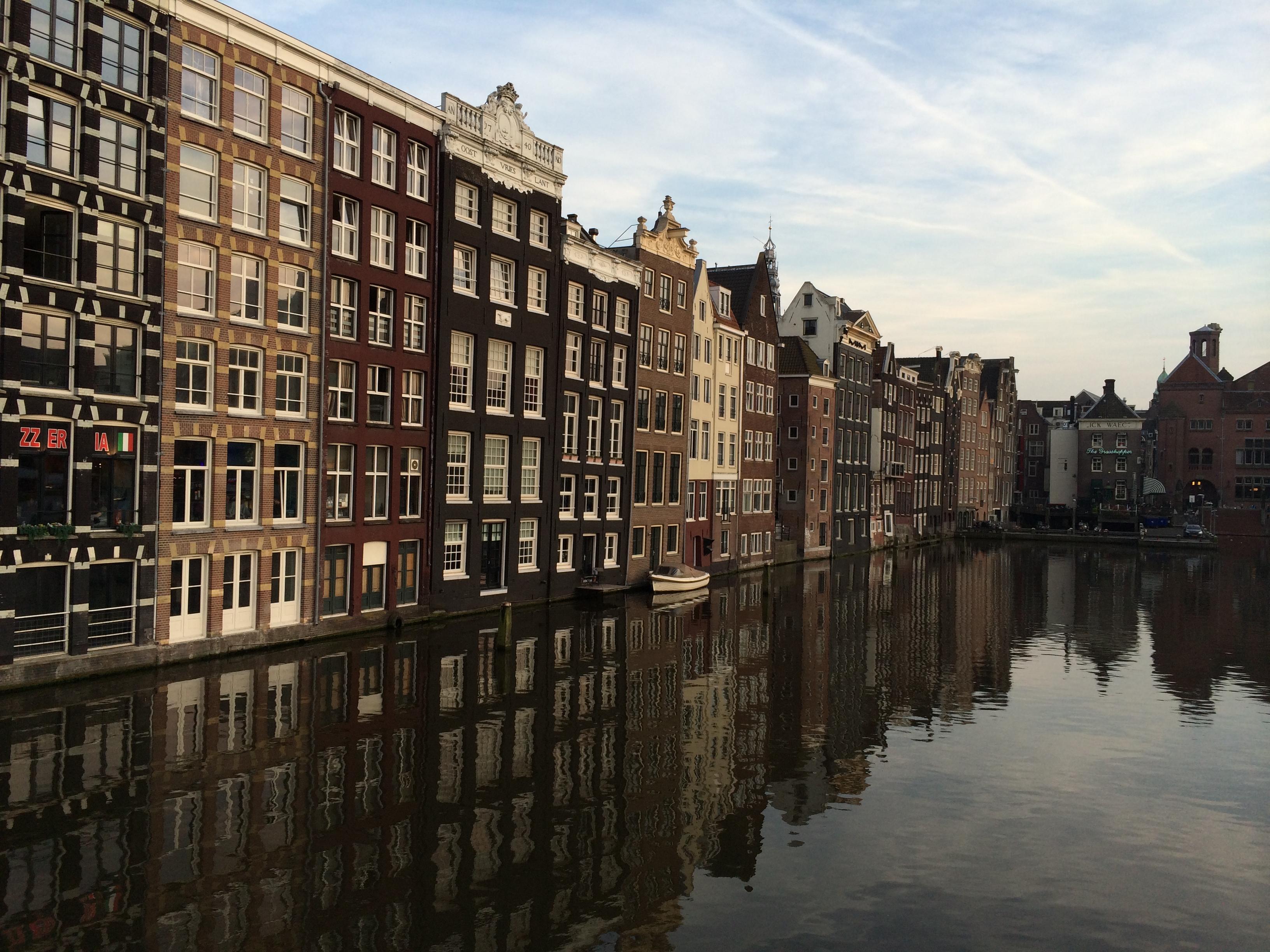 Cenário charmoso de Amsterdã (Foto: Nathalia Tavolieri / Viagem em Detalhes)