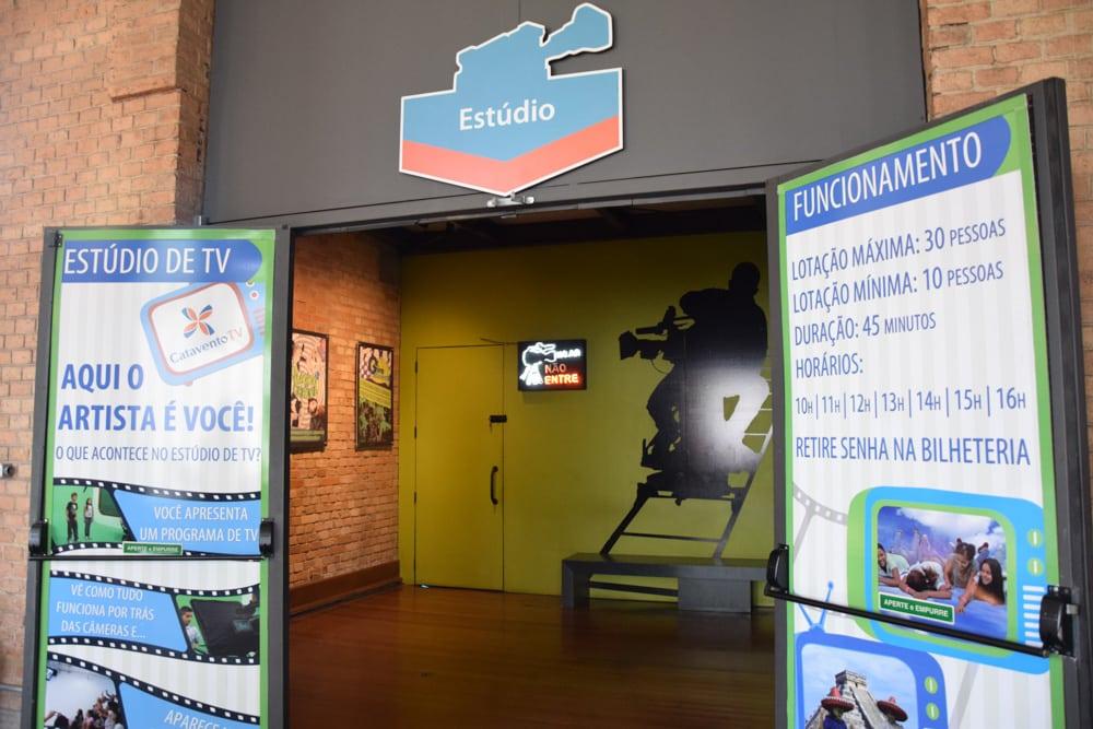 O estúdio de TV é uma atração divertida do Museu Catavento! Conheça outras nesse post!