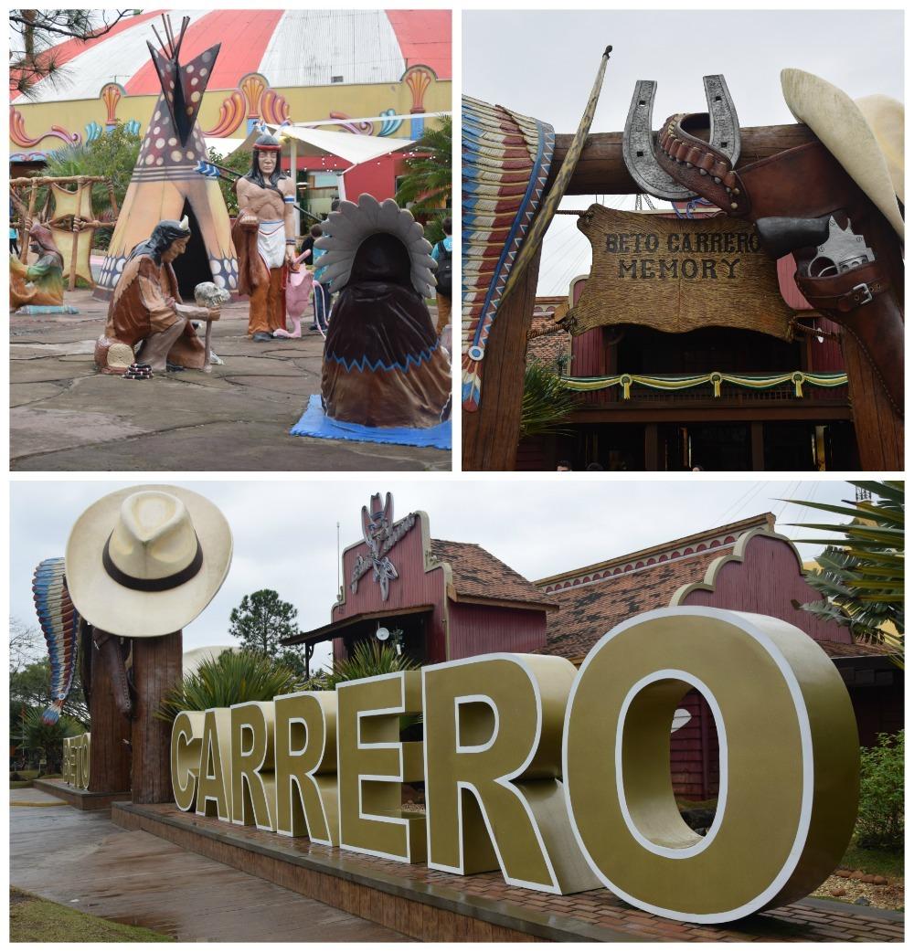 Área do Velho Oeste no Beto Carrero! Veja como aproveitar ao máximo o parque nesse post!