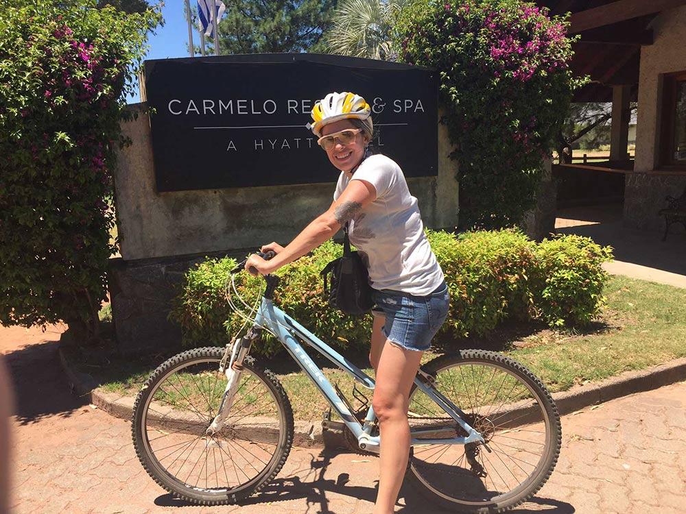 O Hyatt Carmelo, no Uruguai, oferece bicicletas para os hóspedes! Veja resenha completa desse hotel magnífico no post!