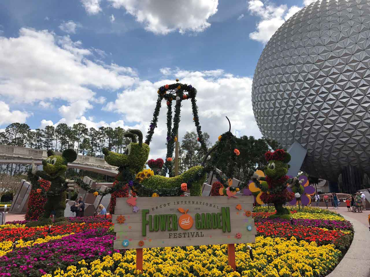 Epcot Flower and Garden