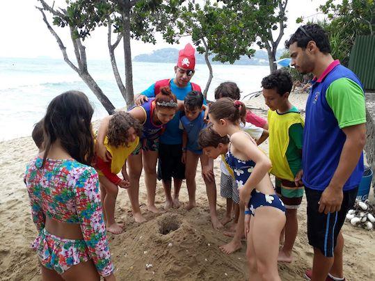 Recanto das Toninhas Hoteis praia crianças