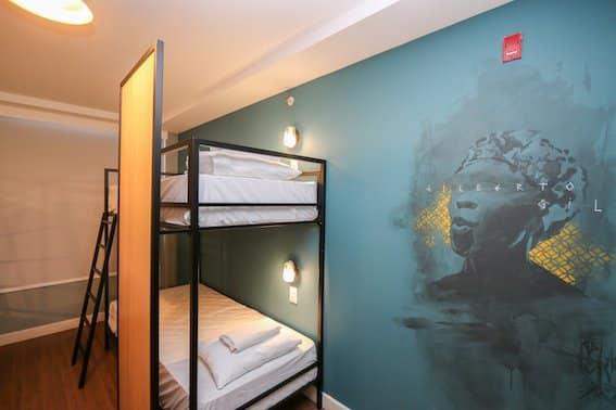 quarto Hotel Selina RJ