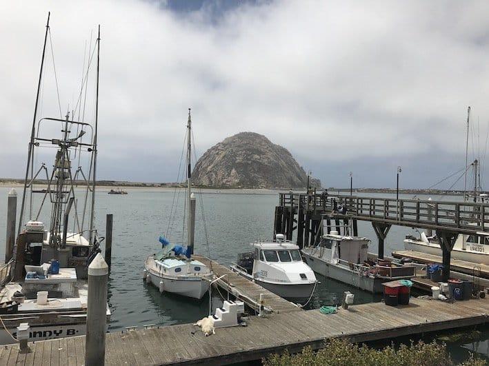 Roteiro Califórnia Morro bay