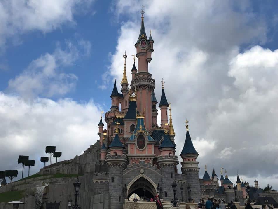Castelo da Disney paris