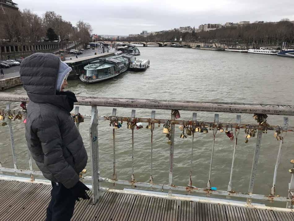 Paris com crianças, passeio pelas pontes.