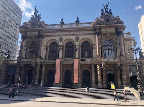 Visita ao Teatro Municipal SP